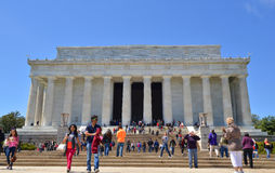 Lincoln Memorial, Washington DC Stock Photo