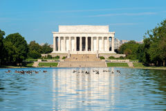 The Lincoln Memorial in Washington DC Royalty Free Stock Photo