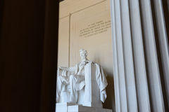 Lincoln Memorial in Washington DC Royalty Free Stock Photo