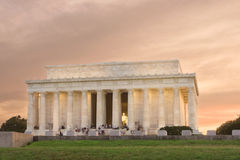 Lincoln Memorial, Washington DC, Sunset Stock Photography