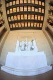 Lincoln Memorial in Washington DC. stock photos