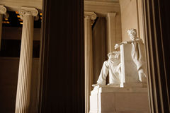 Lincoln Memorial Washington DC USA Stock Image