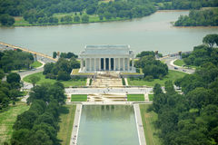 Lincoln Memorial in Washington DC, USA Royalty Free Stock Photos
