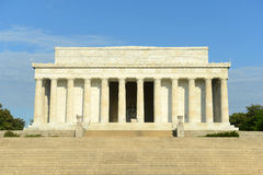 Lincoln Memorial  in Washington DC, USA Royalty Free Stock Photos