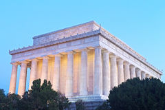 Lincoln Memorial in Washington DC, USA. Royalty Free Stock Photography