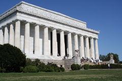 Lincoln memorial Washington DC Stock Photos
