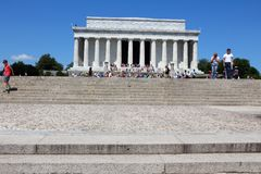 Lincoln Memorial stock fotografie