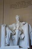 Lincoln Memorial Washington USA Royaltyfria Bilder