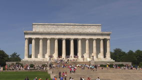 Lincoln Memorial Zoom stock video