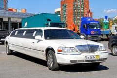 Lincoln miasteczka samochód Zdjęcia Royalty Free