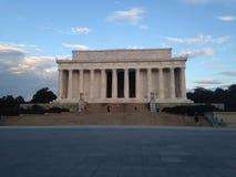 Lincoln minnesmärke Arkivfoto