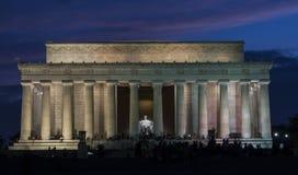 Lincoln minnesmärke Arkivbilder