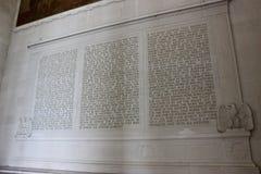 Lincoln minnesmärke Royaltyfri Foto