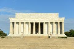 Lincoln minnesmärke i Washington DC, USA Royaltyfria Foton
