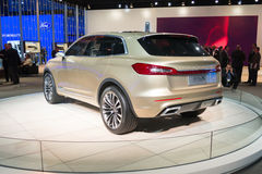 Lincoln MKX 2015 concept car on display Stock Images