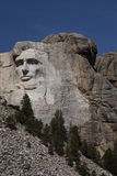Lincoln on Mount Rushmore Royalty Free Stock Image
