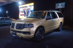 Lincoln Navigator 2016 Arkivbild