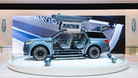 Lincoln Navigator Concept Royaltyfri Bild