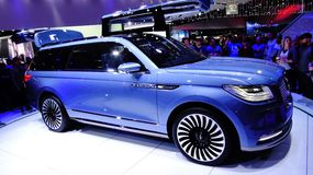 Lincoln Navigator Concept Photos libres de droits