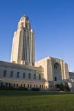 Lincoln, Nebraska - condizione Campidoglio fotografie stock libere da diritti
