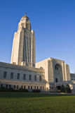 Lincoln Nebraski państwa kapitolu zdjęcia royalty free