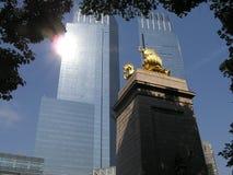 Lincoln NYC cuadrado Foto de archivo libre de regalías