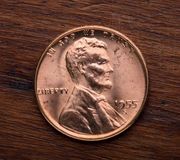 Lincoln One Cent Stock Photos