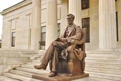 Lincoln på museet arkivbilder