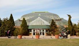 Lincoln Park Conservatory stockbilder