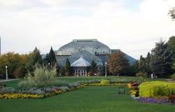 Lincoln Park Conservatory Chicago, Illinois royaltyfria foton