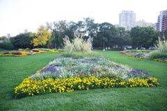 Lincoln Park Conservatory Courtyard Chicago, Illinois royaltyfria bilder