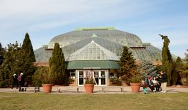 Lincoln Park Conservatory Stock Images