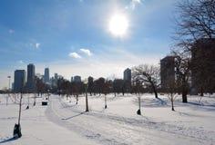 Lincoln Park Path Imagenes de archivo