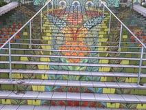 Lincoln Park Steps, 3 imagens de stock royalty free