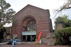 Lincoln Park Zoo Information Center, Chicago, Illinois. The Lincoln Park Zoo is a free admission based Zoo, the Zoo is located in Downtown Chicago, Illinois near stock images