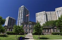 Lincoln Parkowy Kulturalny centrum fotografia royalty free