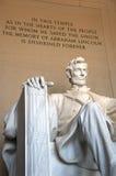 Lincoln Pomnik Zdjęcie Stock