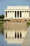 Lincoln pomnik zdjęcie royalty free