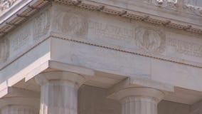 Lincoln pomnik zdjęcie wideo
