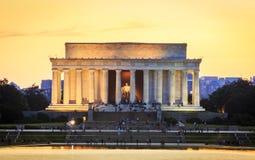 Lincoln pomnik Obrazy Royalty Free