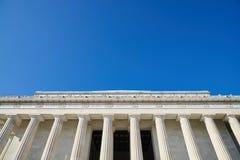 Lincoln pomnik Fotografia Royalty Free