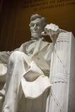 Lincoln pomnik Wędkujący Zdjęcie Stock