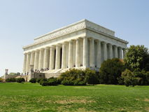 Lincoln pomnik - washington dc obraz royalty free
