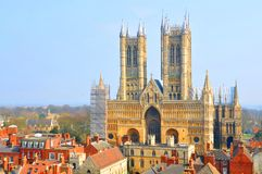 Lincoln, Reino Unido imagens de stock royalty free