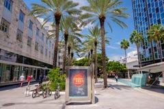 Lincoln Road Mall Fotografering för Bildbyråer