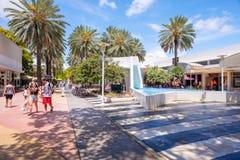 Lincoln Road Mall Arkivfoton