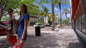 Lincoln Road Miami Beach video d archivio