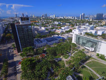 Lincoln Road Miami Beach Stock Image