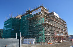 Lincoln Road New Office Block Detail, Christchurch Rebuild. Royalty Free Stock Photography