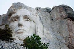 Lincoln at Rushmore Royalty Free Stock Photo
